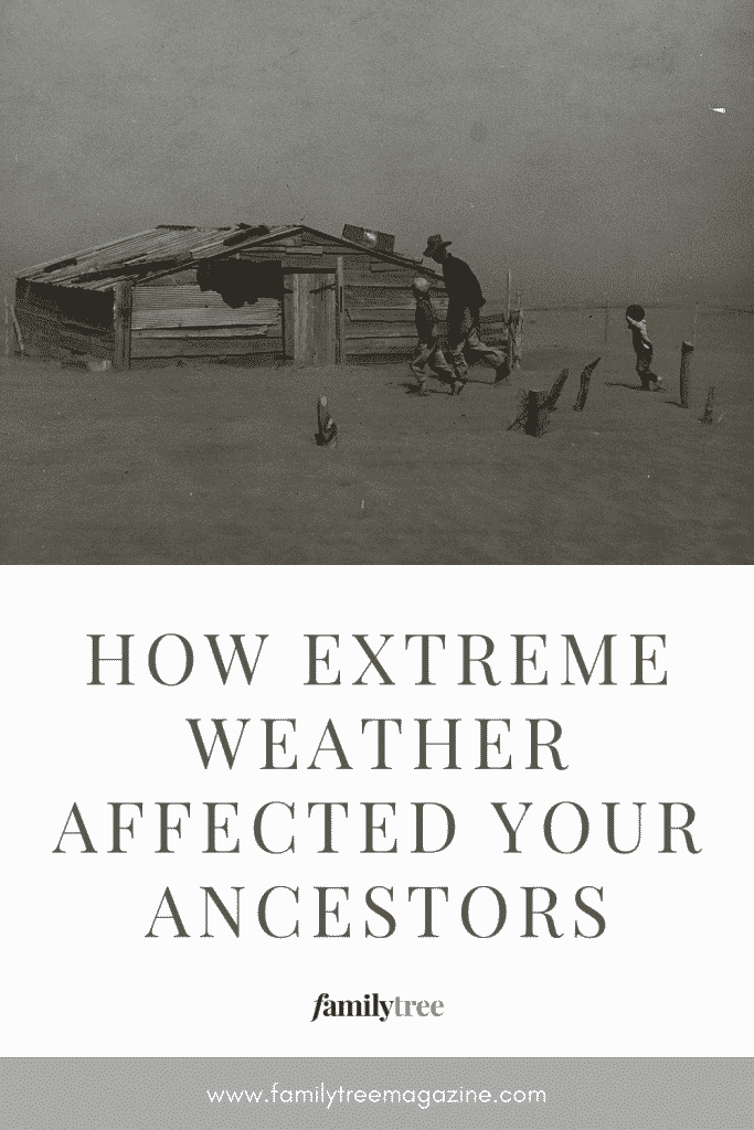 How Extreme Weather Affected Your Ancestors