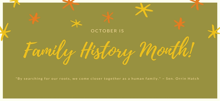 Celebrating Family History Month
