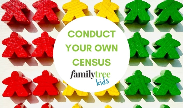 Conduct Your Own Census with Family Tree Kids
