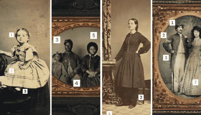 Civil War genealogy clues feature