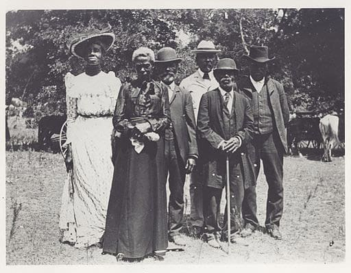 Emancipation day celebration.