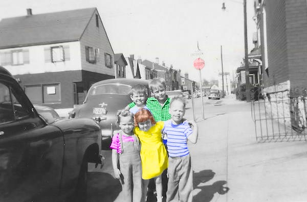 Old Photo Editing to Add Color