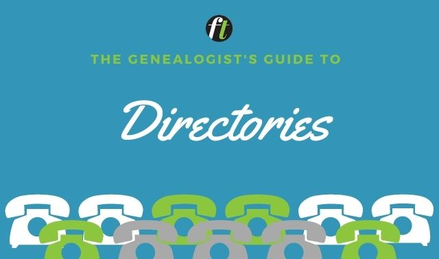 The Genealogist's Guide to Directories from Family Tree Magazine