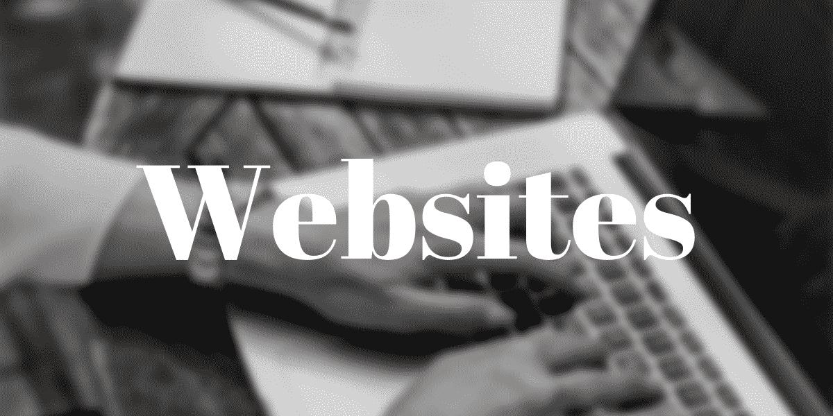 Websites Section Header
