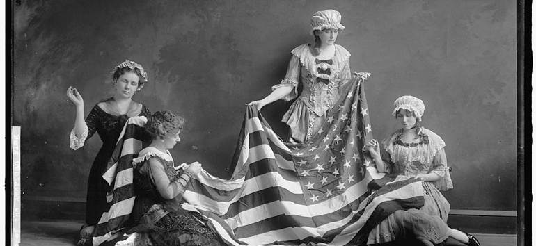 A mysterious photograph showcasing the American Flag is examined by our Photo Detective.