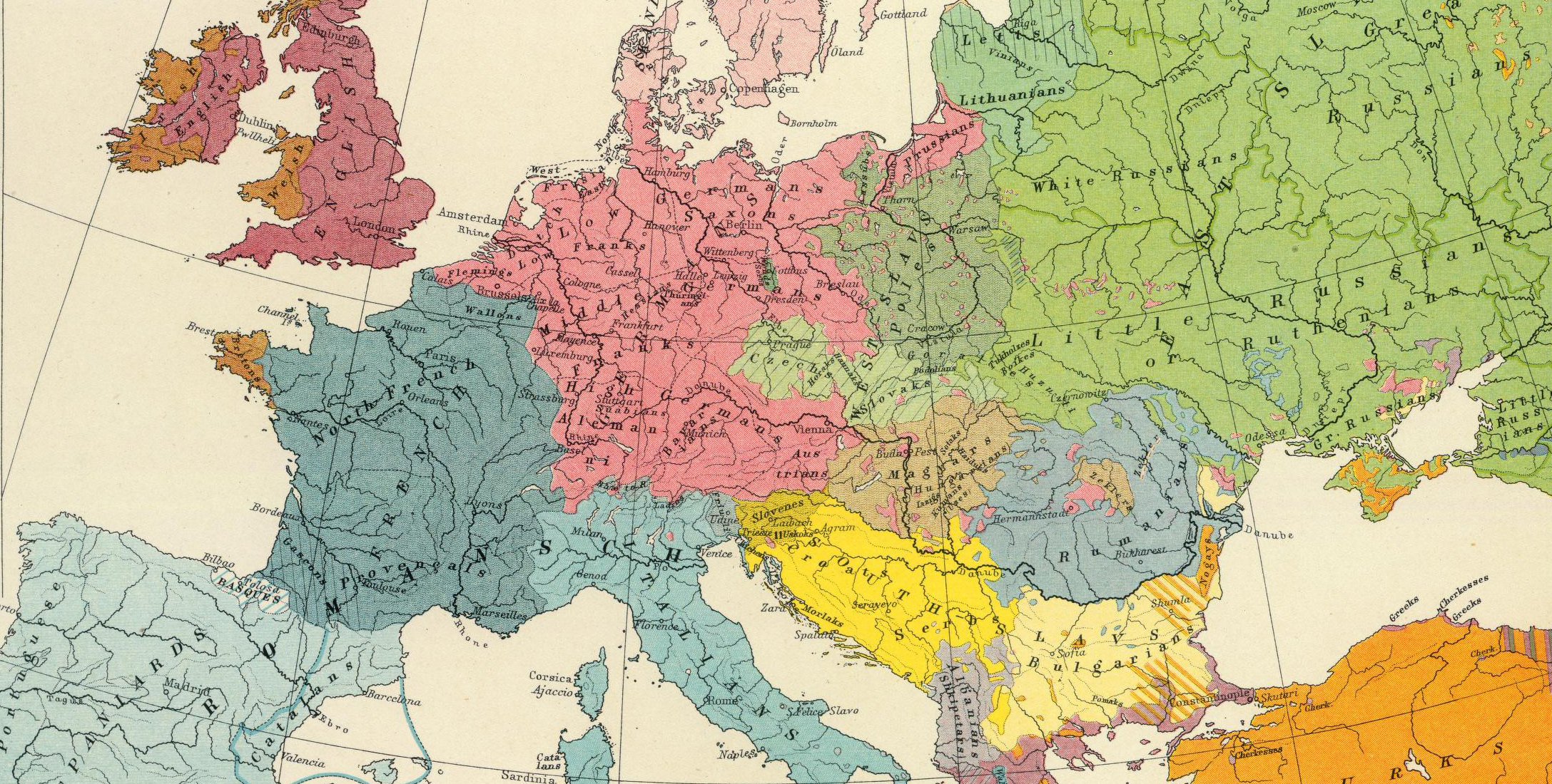 ethnographic maps, how to read ethnographic maps, historical maps of europe, heritage map, historical heritage, europe map