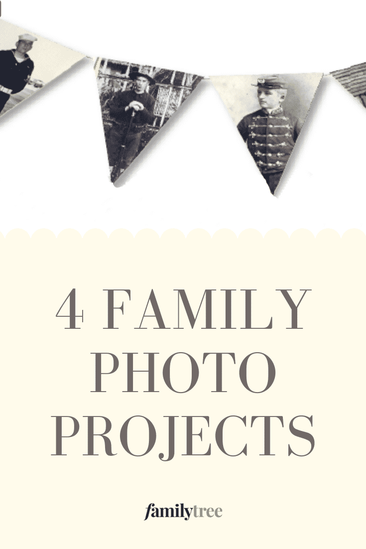 4 Family Photo Projects