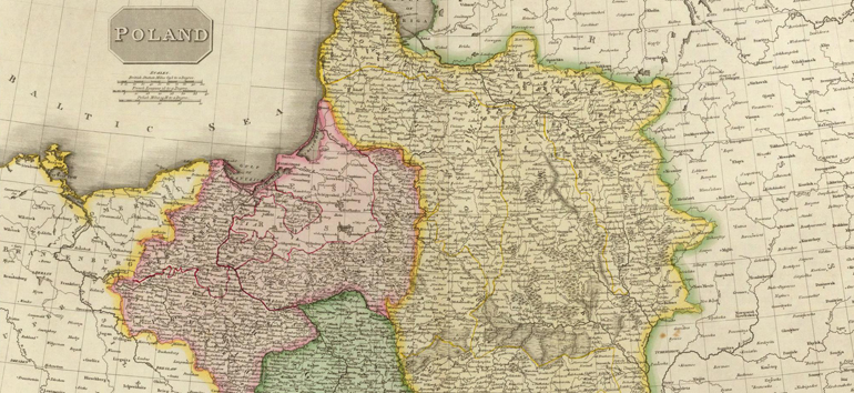 Unpack the often-difficult Polish history with this map of the Partitions of Poland.
