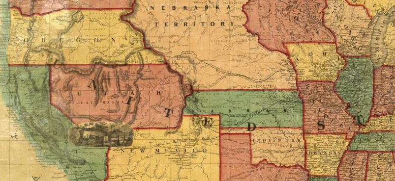 historical maps california, historical maps western states