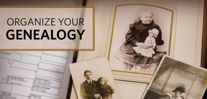 organization tips tricks genealogy course