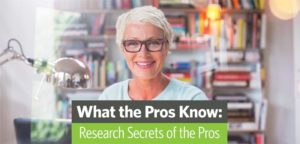 Research Secrets of the Pros