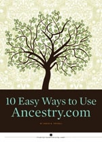 Ancestry free ebook screenshot