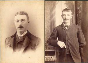 Comparing faces in old family photos