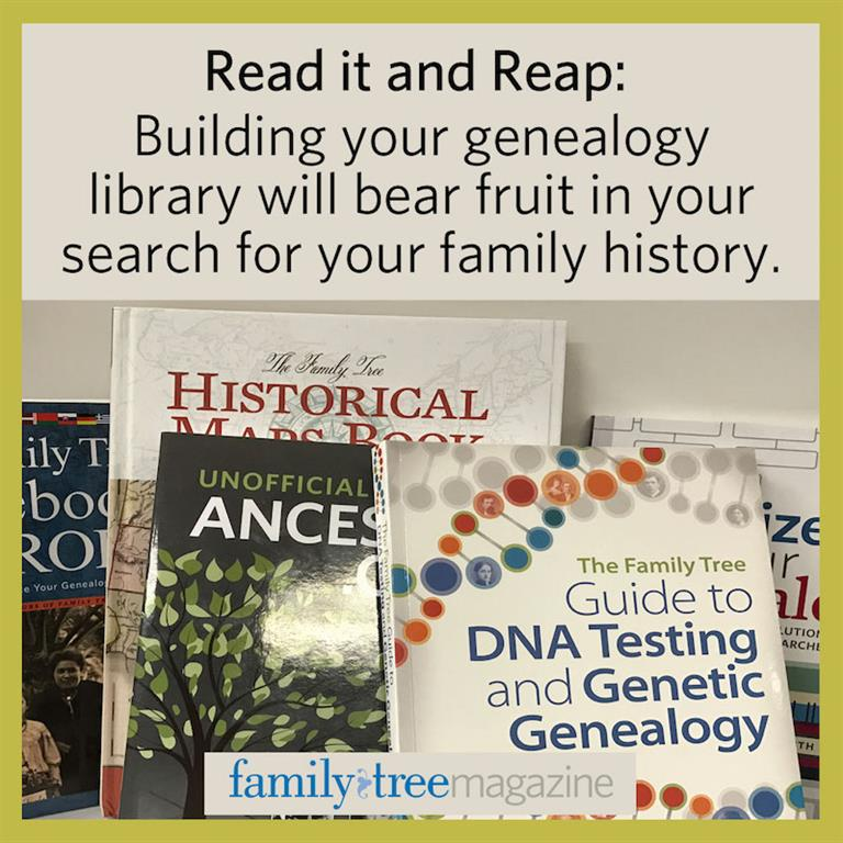 10 essential genealogy books family tree