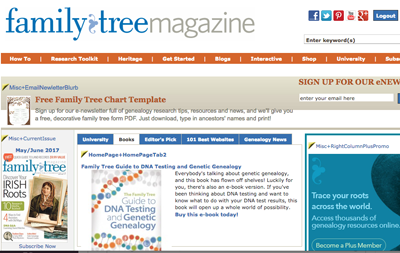 for our last website of the day we humbly recommend the how to articles free genealogy forms and quick reference sheets on our own familytreemagazinecom