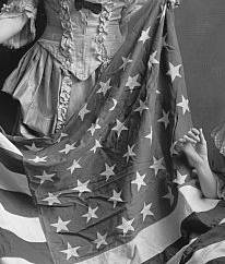 The flag's stars in a mysterious photograph showcasing the American Flag is examined by our Photo Detective.