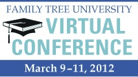 Family Tree University Virtual Conference