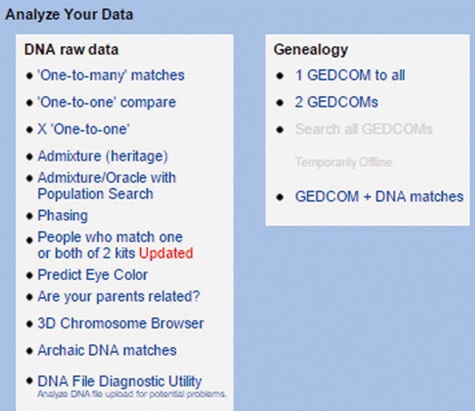 how to use GEDmatch to analyze your DNA test results