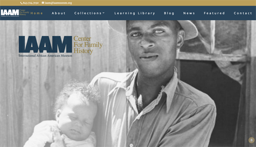Center for Family History website focuses on African-American genealogy