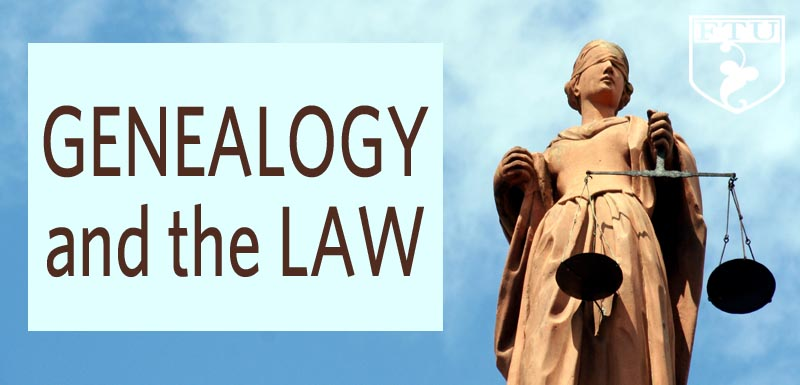 Genealogy and the Law