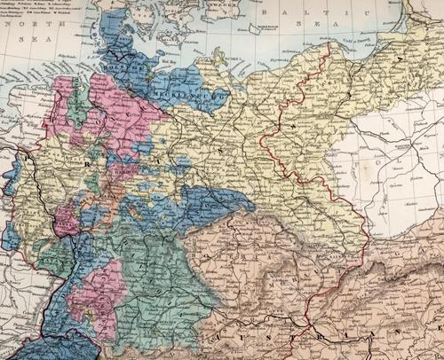 historical map german states