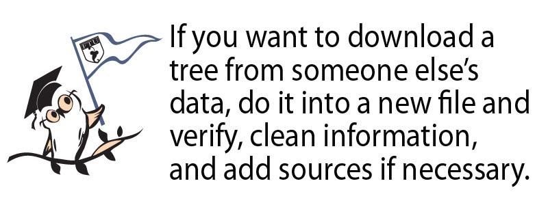 RootsMagic genealogy tip
