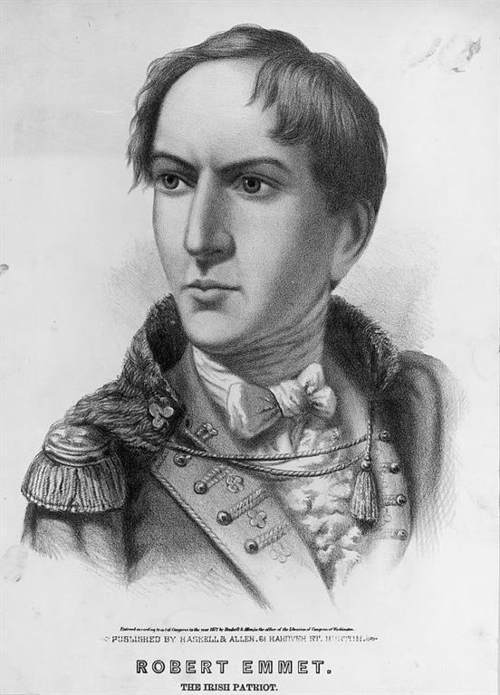 Robert Emmet of Emmet's Rebellion