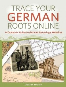 online german book, trace your german roots online