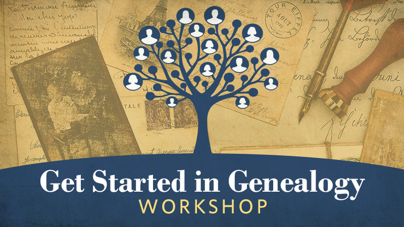 Get Started Genealogy Research