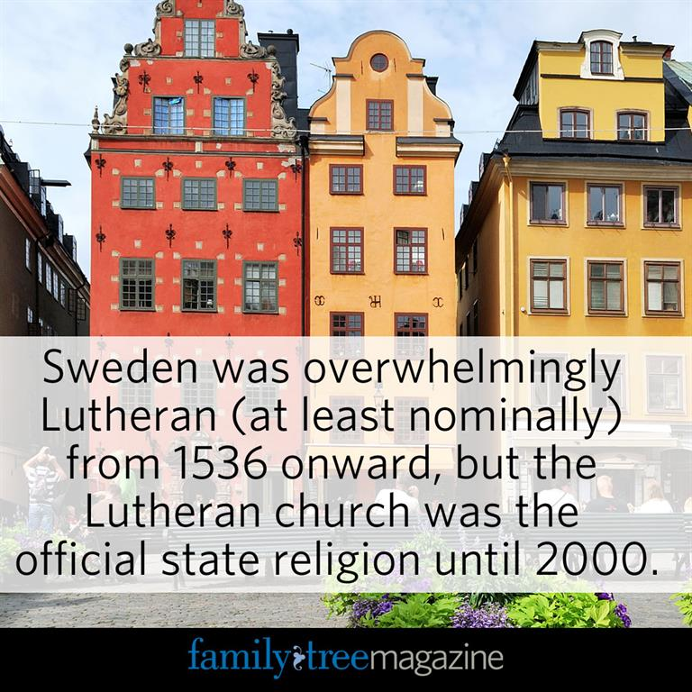 Swedish Genealogy tip