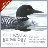 Minnesota Genealogy Crash Course webinar Family Tree Magazine