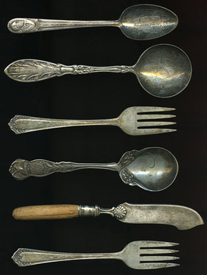 a history of cutlery how our ancestors developed their. Black Bedroom Furniture Sets. Home Design Ideas