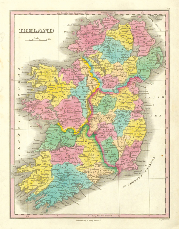 Road Map Of Ireland With Counties.Top 10 Punto Medio Noticias Road Map Of Ireland