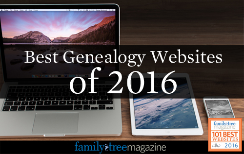 101 Best Websites for Genealogy in 2016 - Family Tree