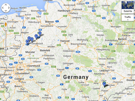Map Of North West Germany.Four Ways I Ve Found German Ancestors Birthplaces Family Tree