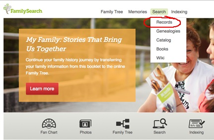 how-to use family search pro tips