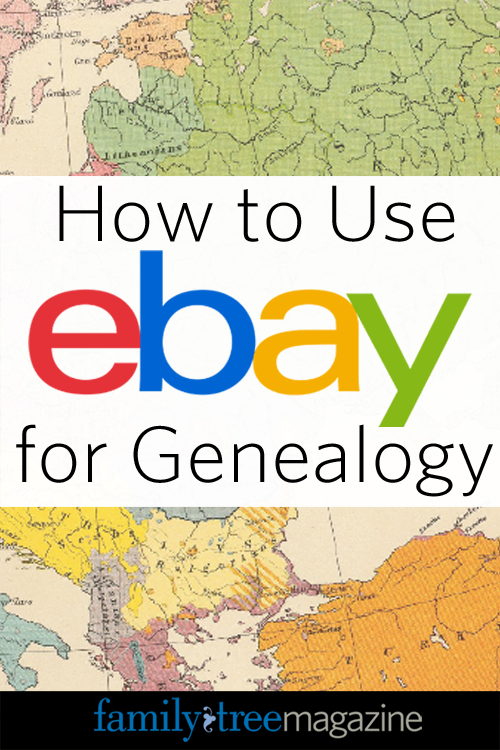 How to Use eBay for Genealogy