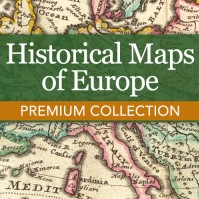 Historical Maps of Europe Premium Collection