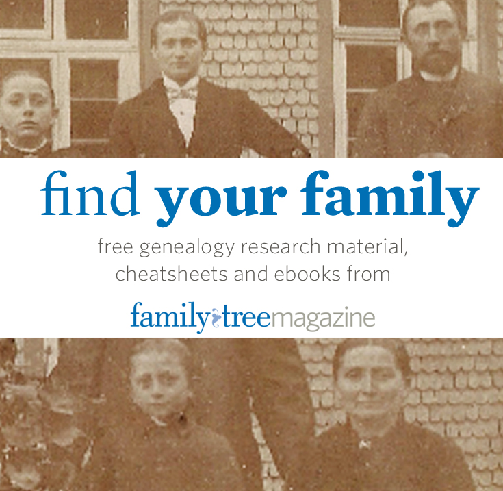 Free Genealogy Cheat Sheets and Family History Ebooks