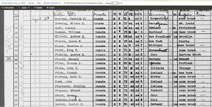 FamilySearch 1940 census