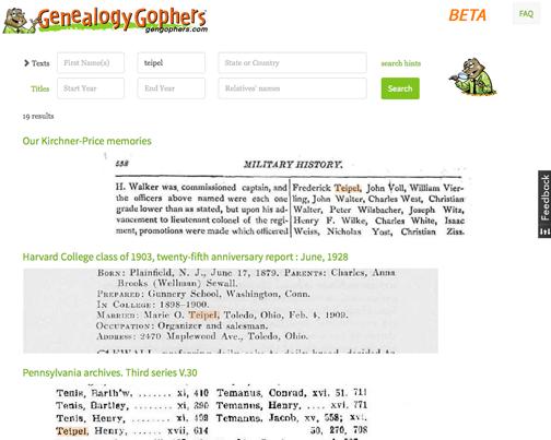 GenGophers website