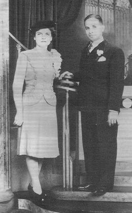 genealogy stories wedding photo