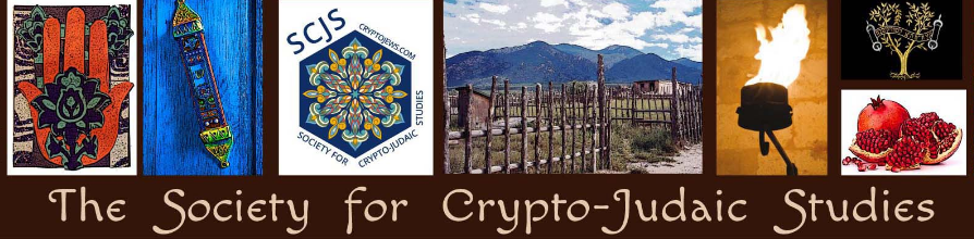 Screenshot from the Society for Crypto-Judaic Studies home page