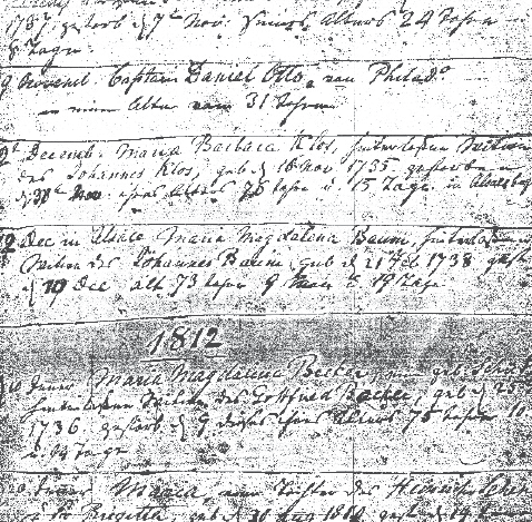 Researching genealogy in Lutheran church records