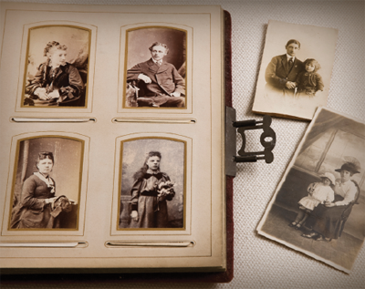 how to preserve your heirloom photo album family tree