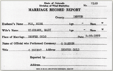 how to find marriage records in ontario