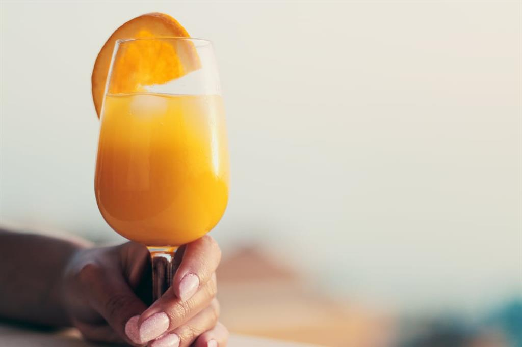 Annual Christmas brunch mimosa recipe