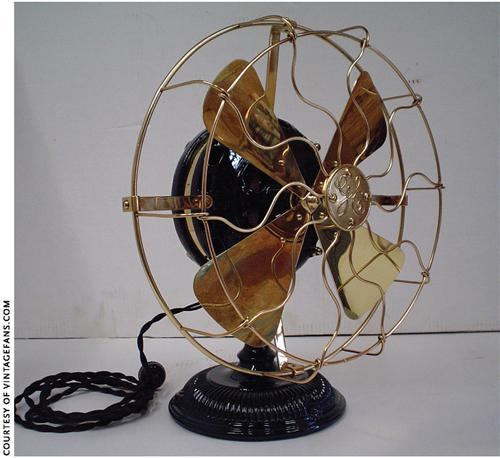 What Was The First Electric Fan : History matters electric fans family tree