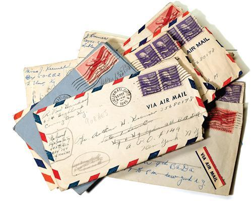Preserving Memories War Letters And Scrapbooking Tools Family Tree