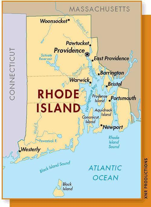 Rhode Island Fast Facts And Key Resources Family Tree - Where is rhode island